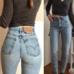 VINTAGE | LEVI'S | 512 High Rise Mom Jeans